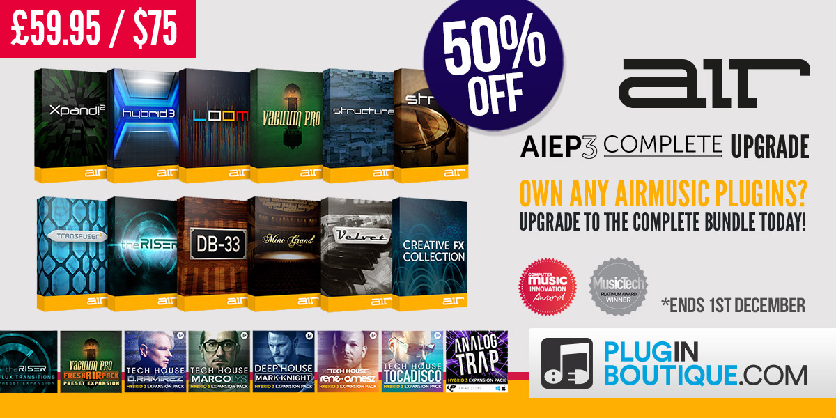Air Music AIEP3 Complete Upgrade Sale - 50% Off