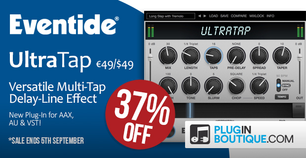 Eventide UltraTap Introductory Sale - 37% Off