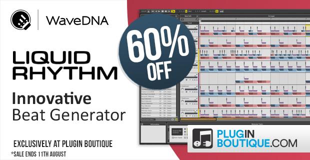 WaveDNA Liquid Rhythm Sale (Exclusive) - 60% Off