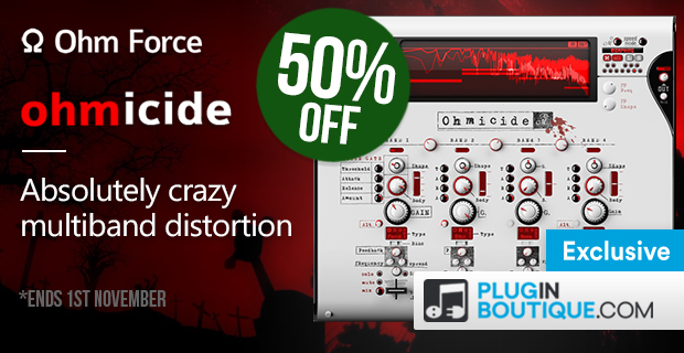 OhmForce Ohmicide Halloween Sale (Exclusive) - 50% Off