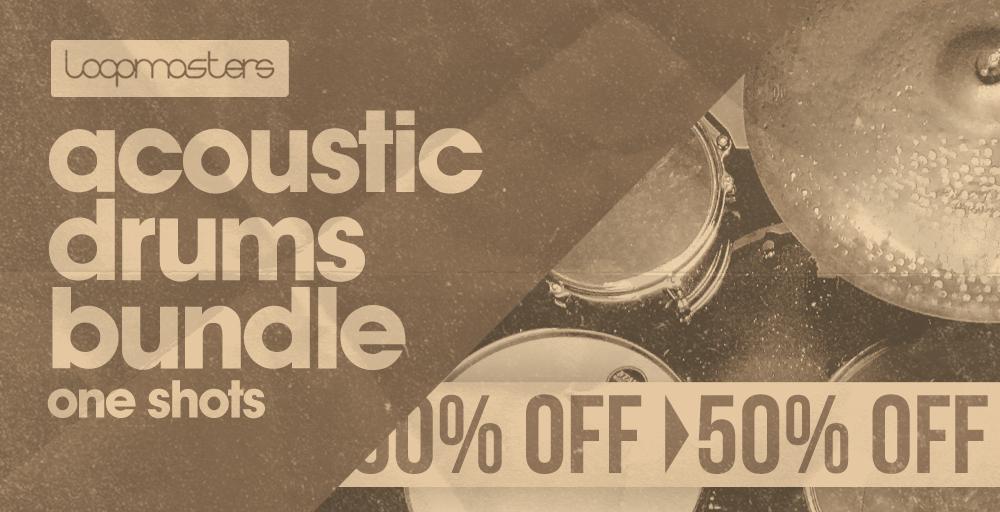 Acoustic Drums Bundle - 50% Off