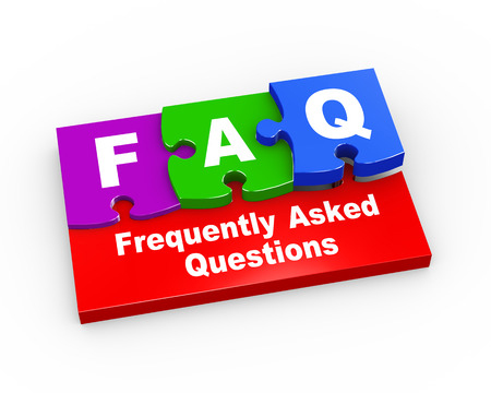Frequently Asked Questions - FAQ's