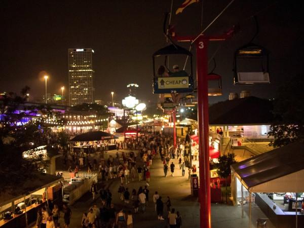 Summerfest grounds
