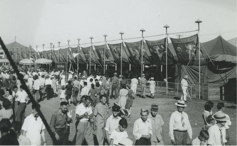 Midsummer festival in 1930s Milwaukee