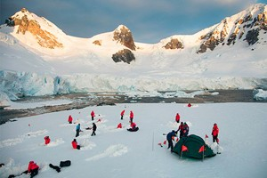 Polar Cruises Cater to Popularity of Off-Ship Camping and Sea Kayaking