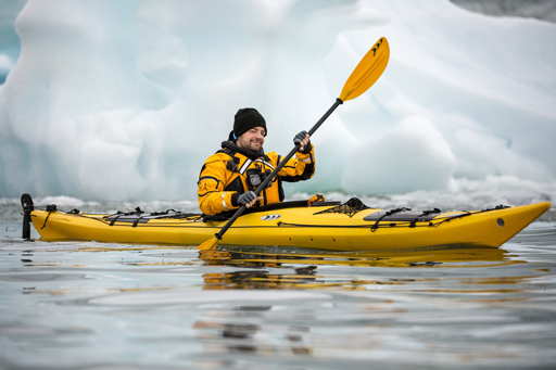 Polar kayaking