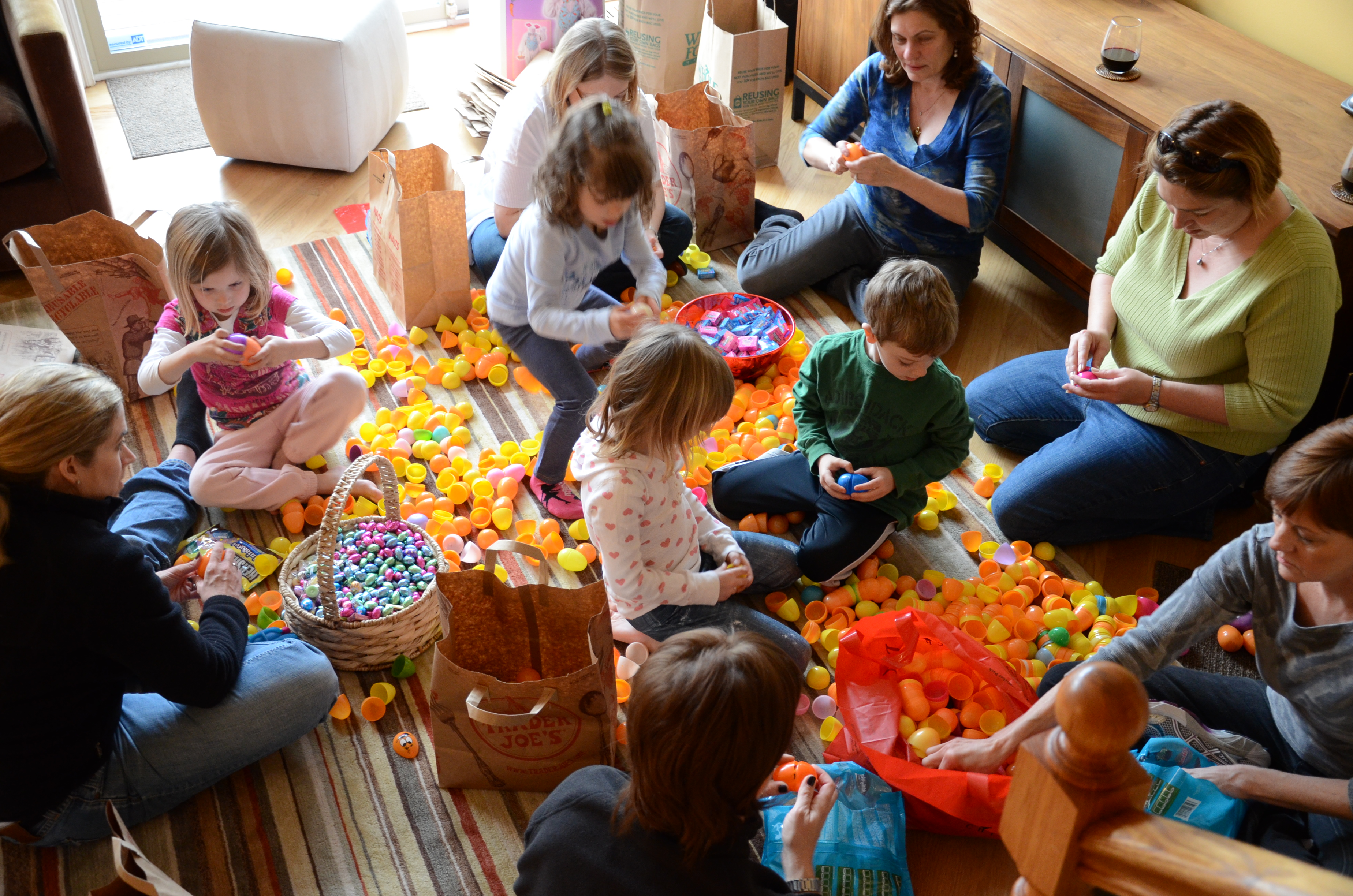 IMAGE: Egg Stuffing Party