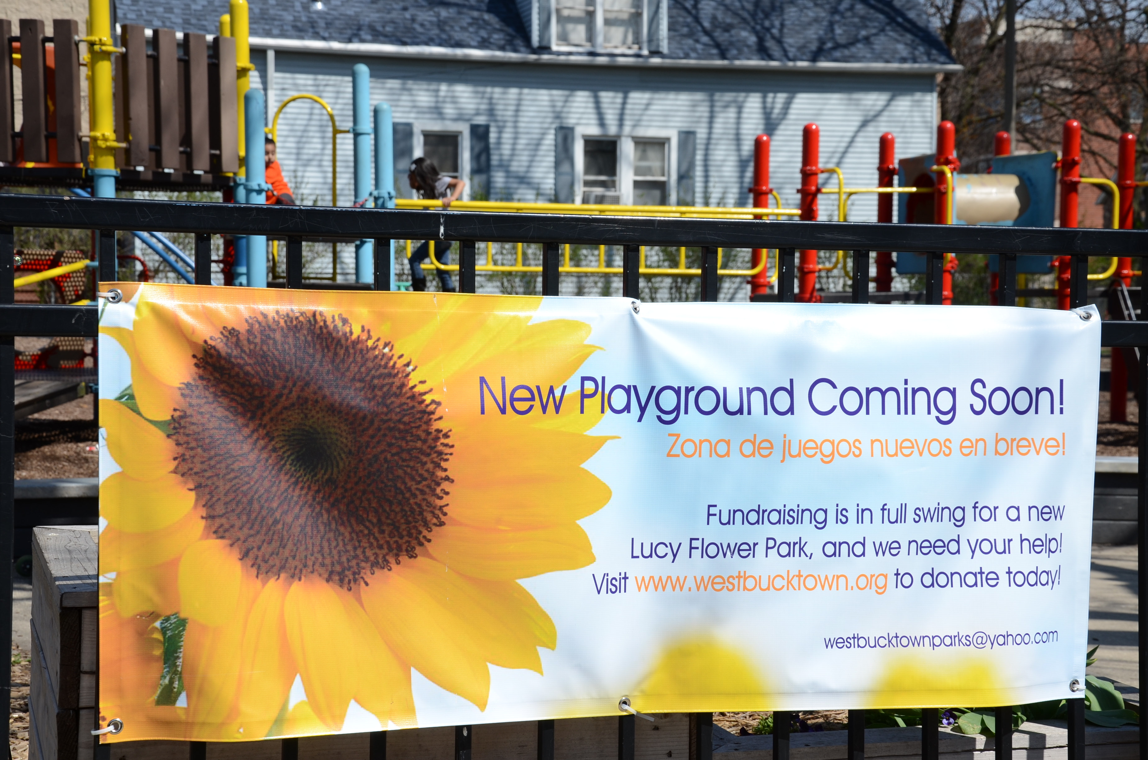 IMAGE: Lucy Flower Fundraising Banner
