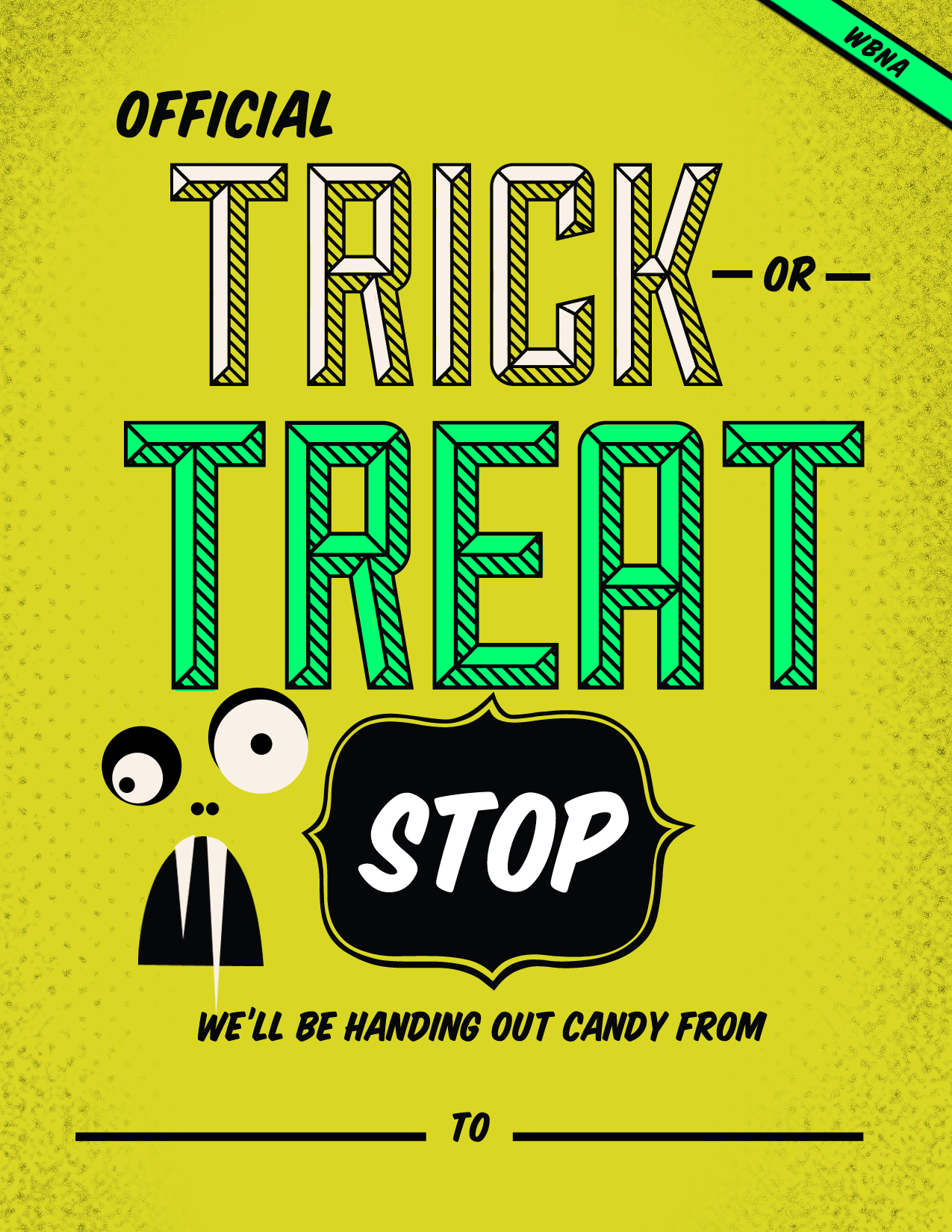 IMAGE: Trick-or-treat poster