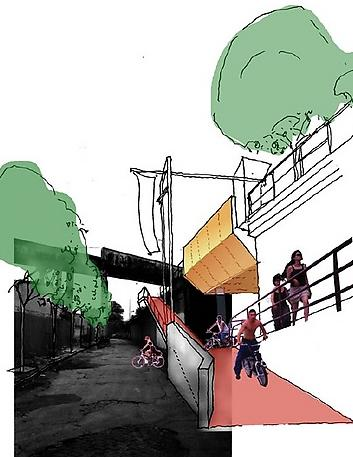 IMAGE: Bloomingdale Trail Rendering