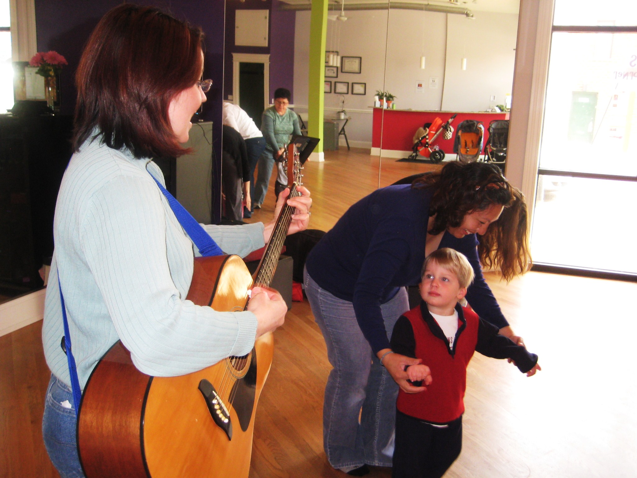 IMAGE: Tots in Motion Class