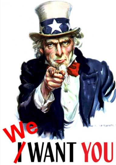IMAGE: We Want You!
