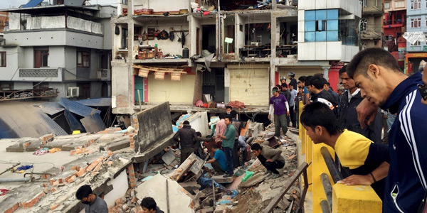 Donate to the Nepal Earthquake Relief Fund