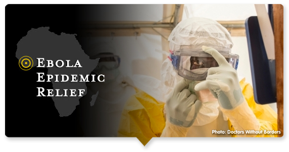 Donate to the Ebola Epidemic Relief Fund