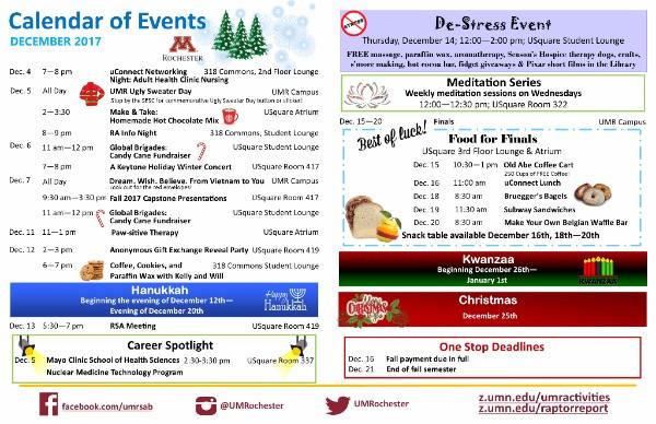 Student Events Calendar