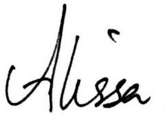 ~Alissa