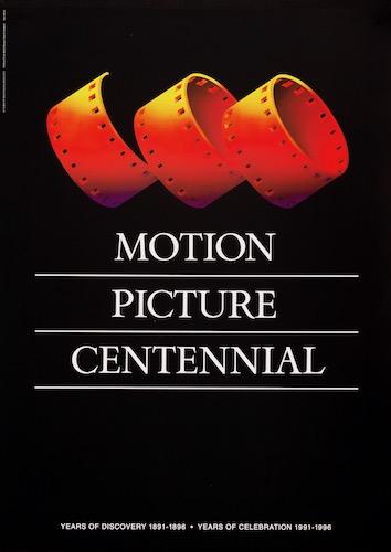 Motion Picture Centennial Saul Bass Original Vintage Poster