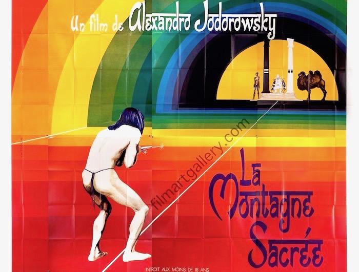 La Montagne Sacree The Holy Mountain Original Vintage Movie Poster