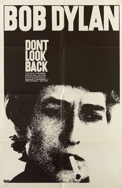 Don't Look Back Original Vintage Movie Poster