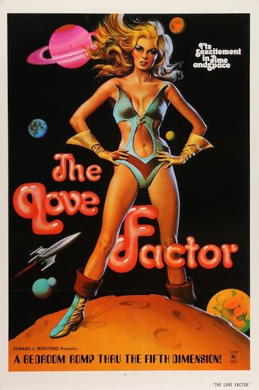 The Love Factor Zeta One Original Vintage Movie Poster