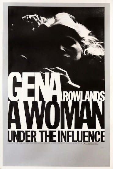 A Woman Under the Influence Vintage Original Movie Poster