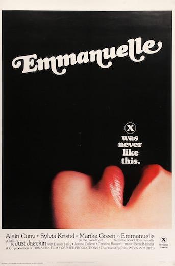 Emmanuelle Original Vintage Movie Poster