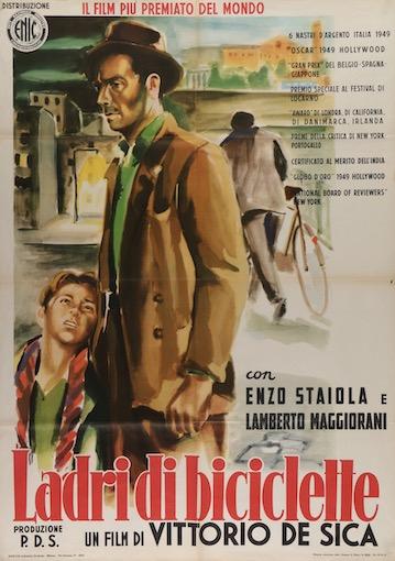 The Bicycle Thief Original Vintage Movie Poster