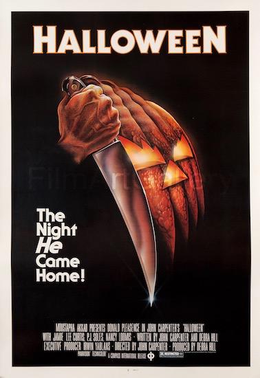 Halloween John Carpenter Vintage Original Movie Poster