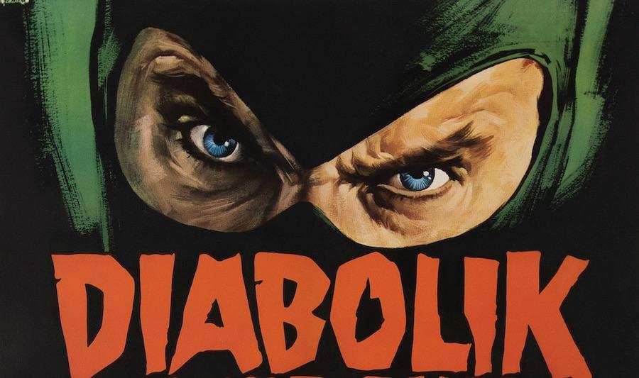 Danger Diabolik Original Vintage Movie Poster