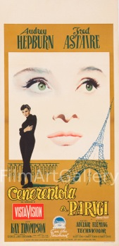 Funny Face Original Vintage Movie Poster