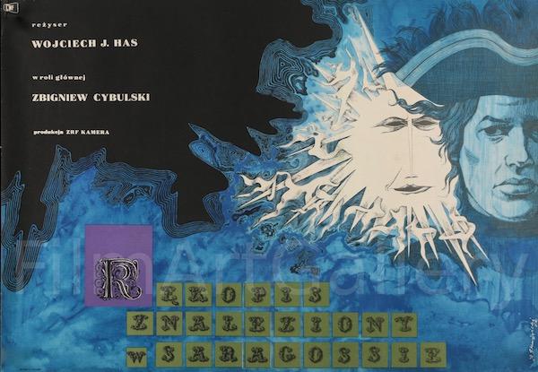 The Saragossa Manuscript Original Vintage Movie Poster