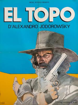 Alejandro Jodorowsky Vintage Original Movie Poster