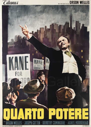 Citizen Kane Original Vintage Movie Poster