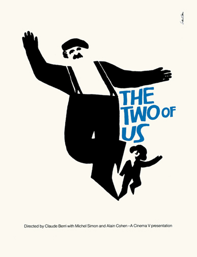 The Two Of Us Saul Bass Original Vintage Movie Poster Silkscreen