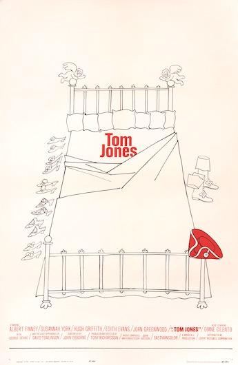 Tom Jones Original Vintage Movie Poster