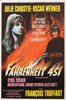 Farenheit 451 Original Vintage Movie Poster