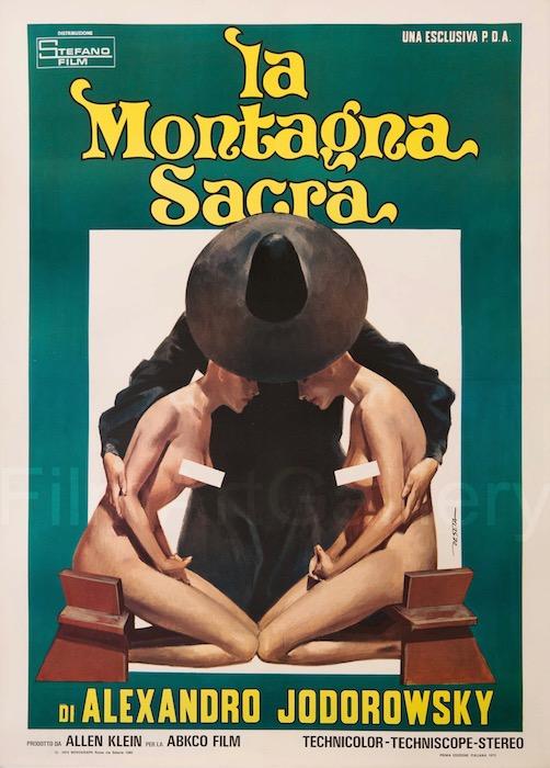 The Holy Mountain Original Vintage Movie Poster