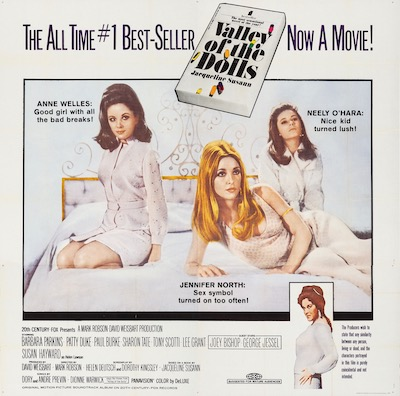 Valley of the Dolls Original Vintage Movie Poster
