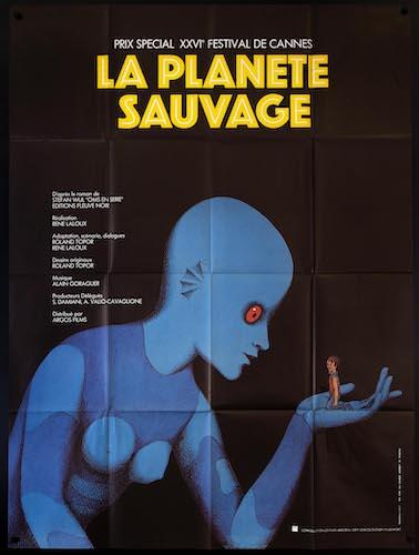 Fantastic Planet Original Vintage Movie Poster