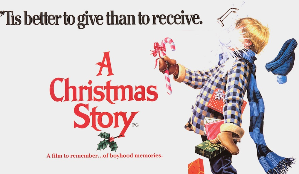 A Christmas Story Vintage Movie Poster
