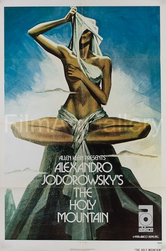 The Holy Mountain Original Vintage Movie Poster