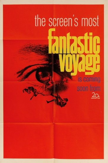 The Fantastic Voyage Original Vintage Movie Poster