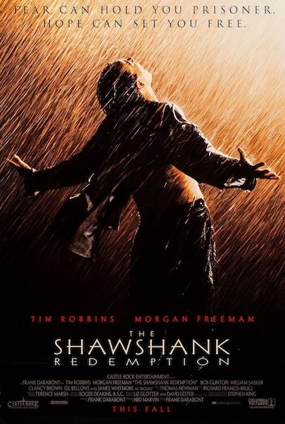 Stephen King The Shawshank Redemption Original Vintage Movie Poster