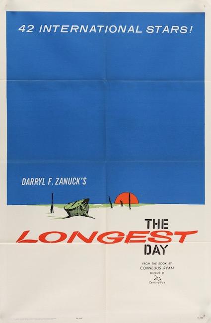 The Longest Day Original Vintage Movie Poster