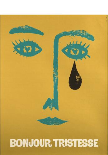 Bonjour Tristesse Original Vintage Movie Poster