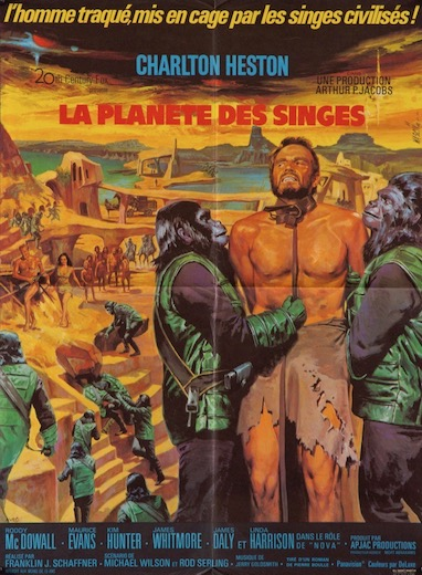 Planet of the Apes Original Vintage Movie Poster