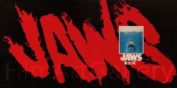 Stephen Spielberg Jaws Original Vintage Movie Poster