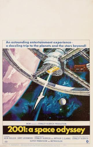 2001 A Space Odyssey Original Vintage Movie Poster