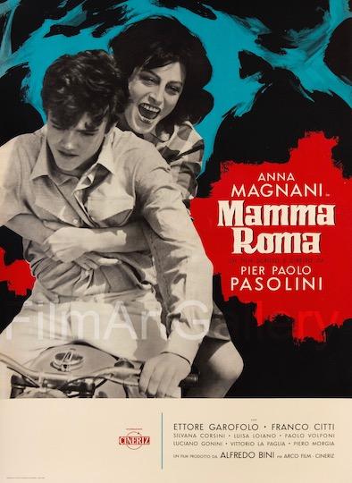Mamma Roma Original Vintage Movie Poster
