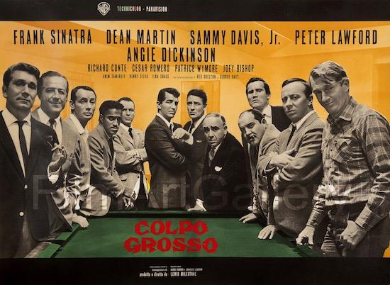 Oceans 11 Original Vintage Movie Poster